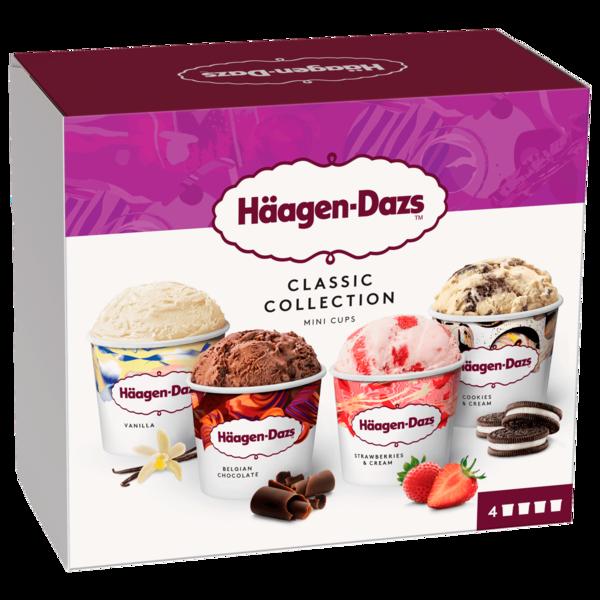 Häagen-Dazs Classic Collection Eis 4x95ml