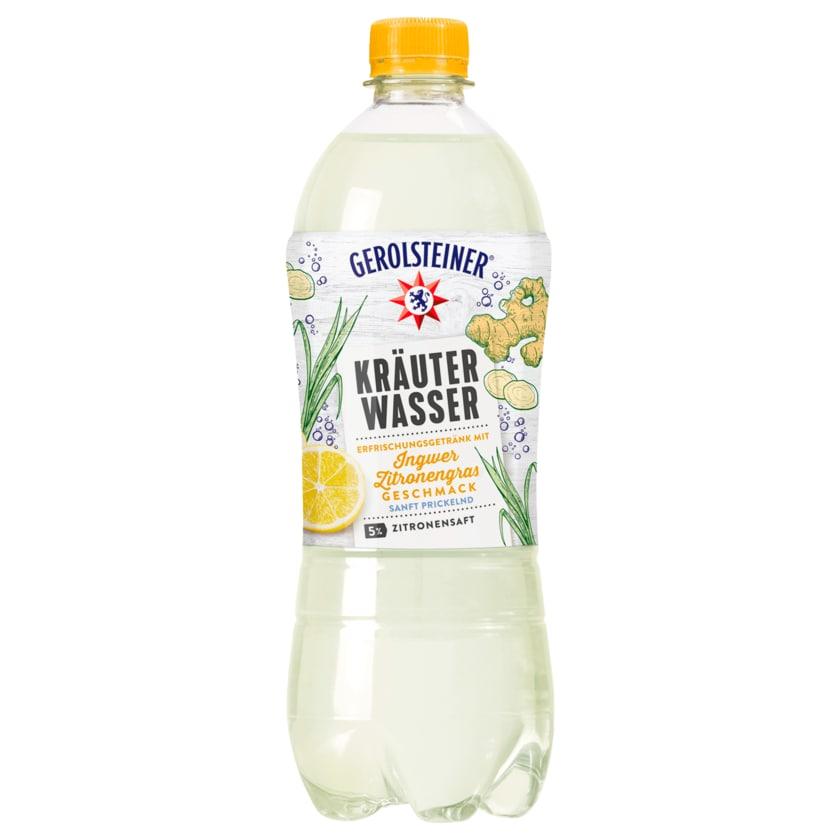 Gerolsteiner Kräuterwasser Ingwer-Zitronengras 0,75l