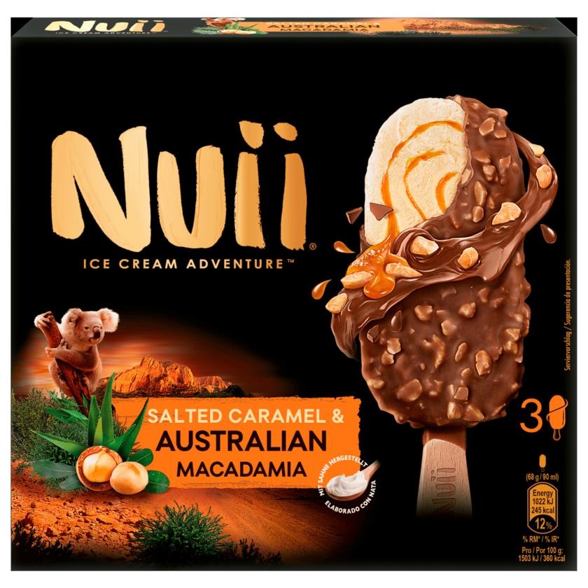 Nuii Eis Salted Caramel & Australian Macadamia 3x90ml