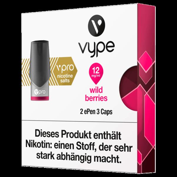 Vype Pro Wild Berries 2 ePen 3 Caps 12mg/ml