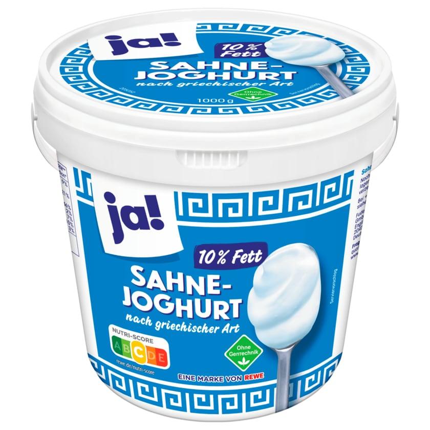 Ja! Sahnejoghurt nach griechischer Art 1kg