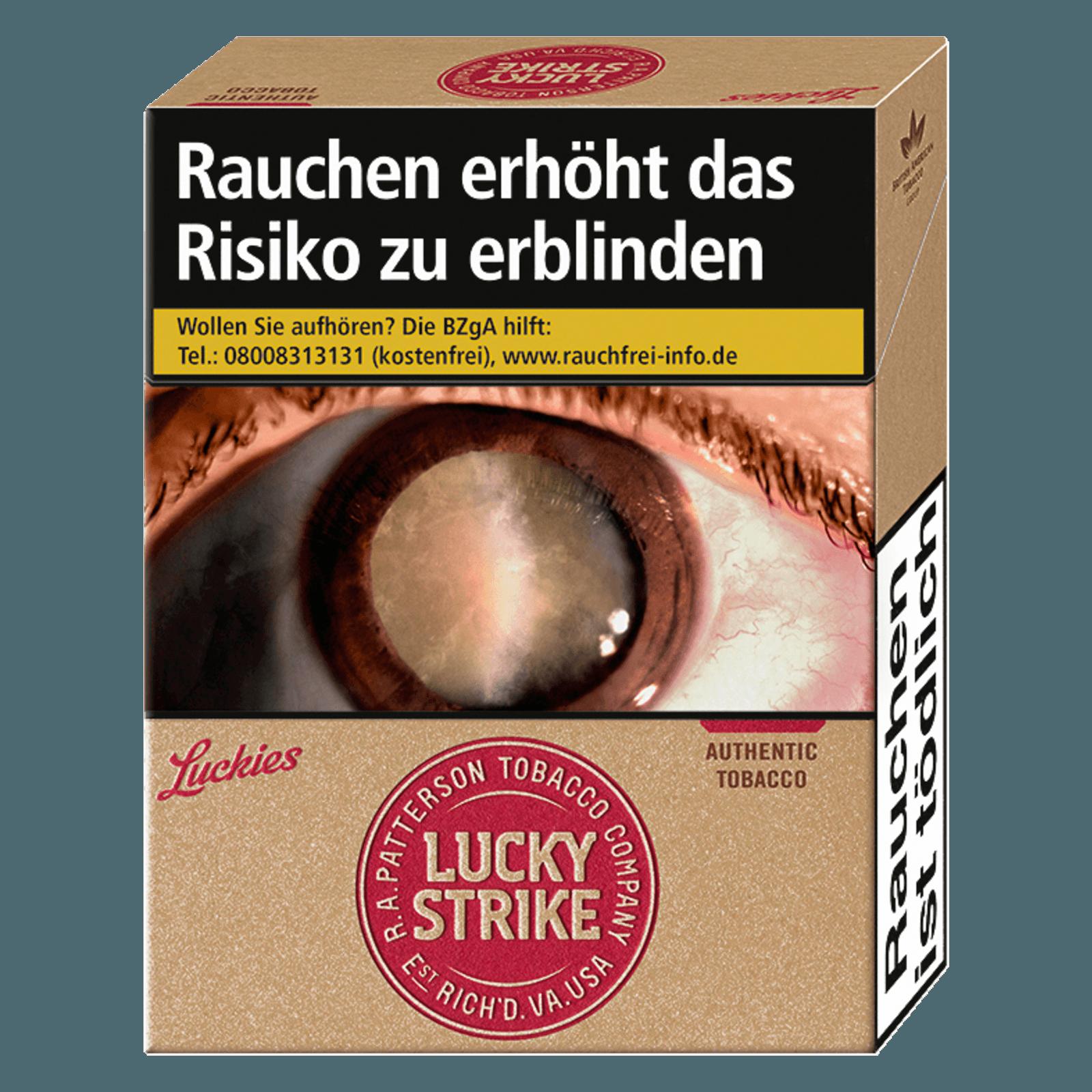 Lucky Strike Red XL 22 Stück