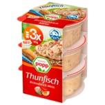 Popp Thunfisch Brotaufstrich 3x40g