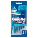 Gillette Einwegrasierer Blue II Plus 5 Stück