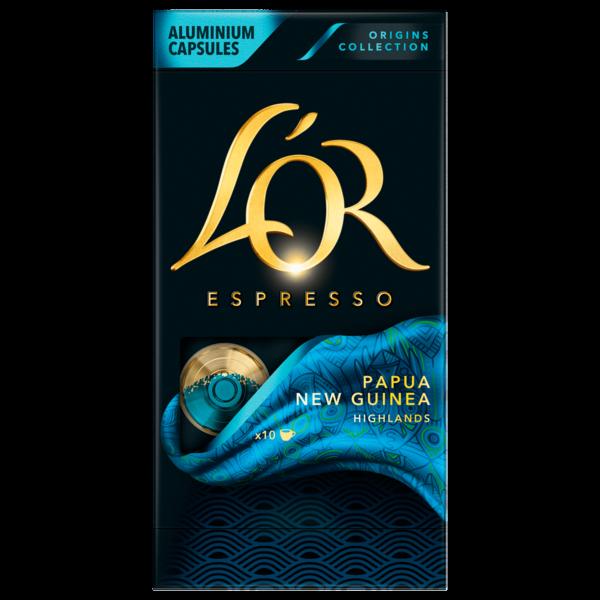 L'Or Espresso Papua New Guinea 52g, 10 Stück