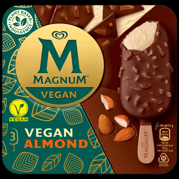 Magnum Vegan Almond 270ml, 3 Stück