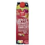 REWE Beste Wahl Apfel schwarze Johannisbeere Himbeere 1l