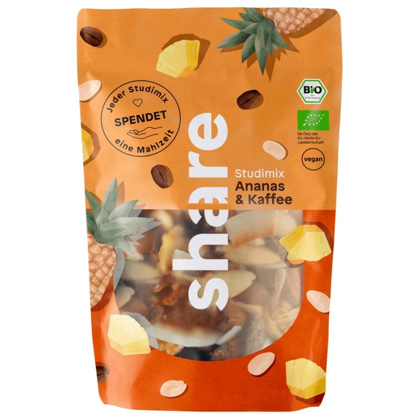 Share Bio Studentenfutter Ananas & Kaffee 120g