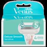 Gillette Venus Klingen Extra Smooth Sensitive 4 Stück