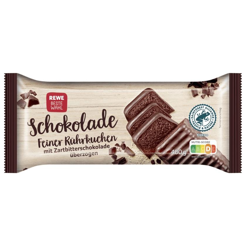 REWE Beste Wahl Feiner Rührkuchen Schokolade 400g