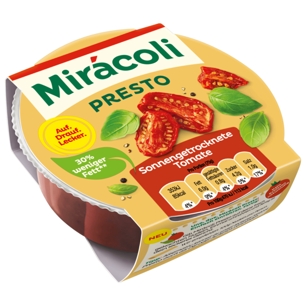 Mirácoli Presto sonnengetrocknete Tomate 150g