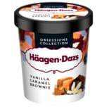 Häagen-Dazs Vanilla Caramel Brownie Eis 460ml
