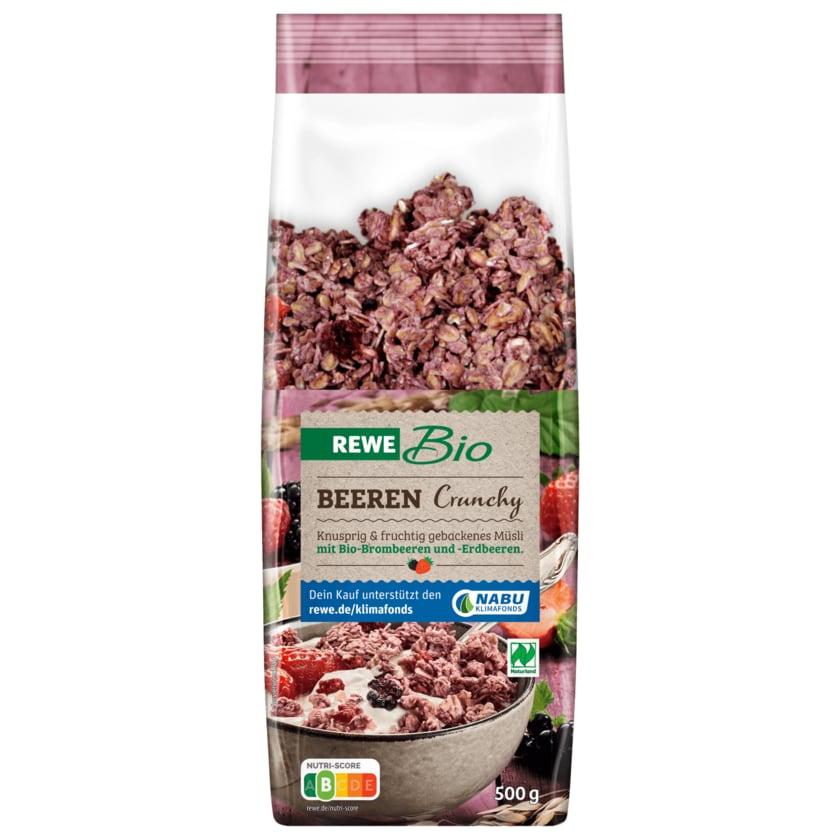 REWE Bio Beeren Crunchy 500g