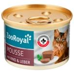 ZooRoyal Rind & Leber Mousse 85g