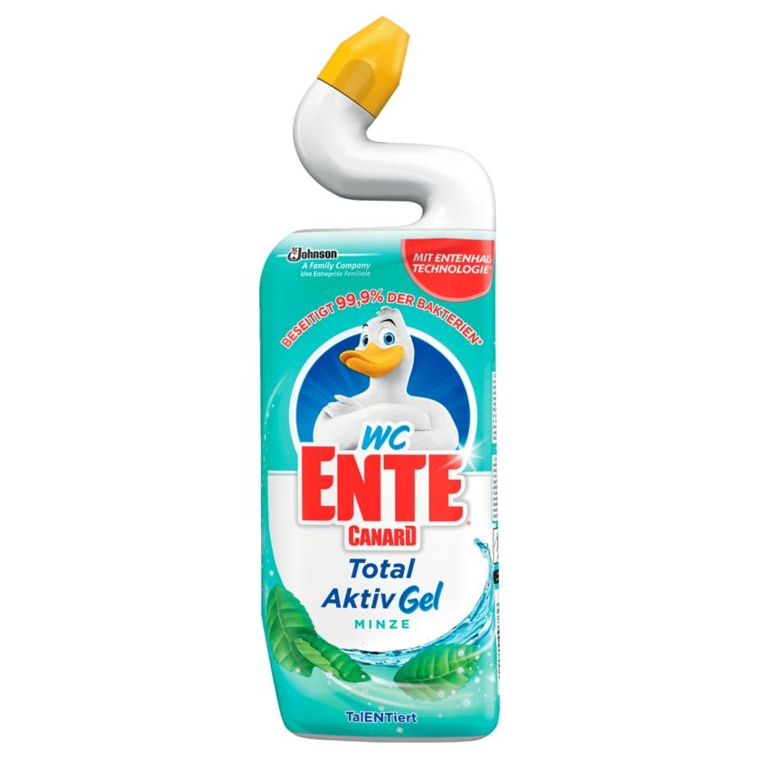 WC-Ente Total Aktiv Gel Minze 750ml