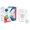 BRITA Wasserfilter- Kanne Marella XL weiß inkl. 2 MAXTRA+