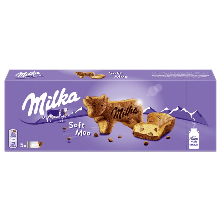 Milka Soft Moo 140g
