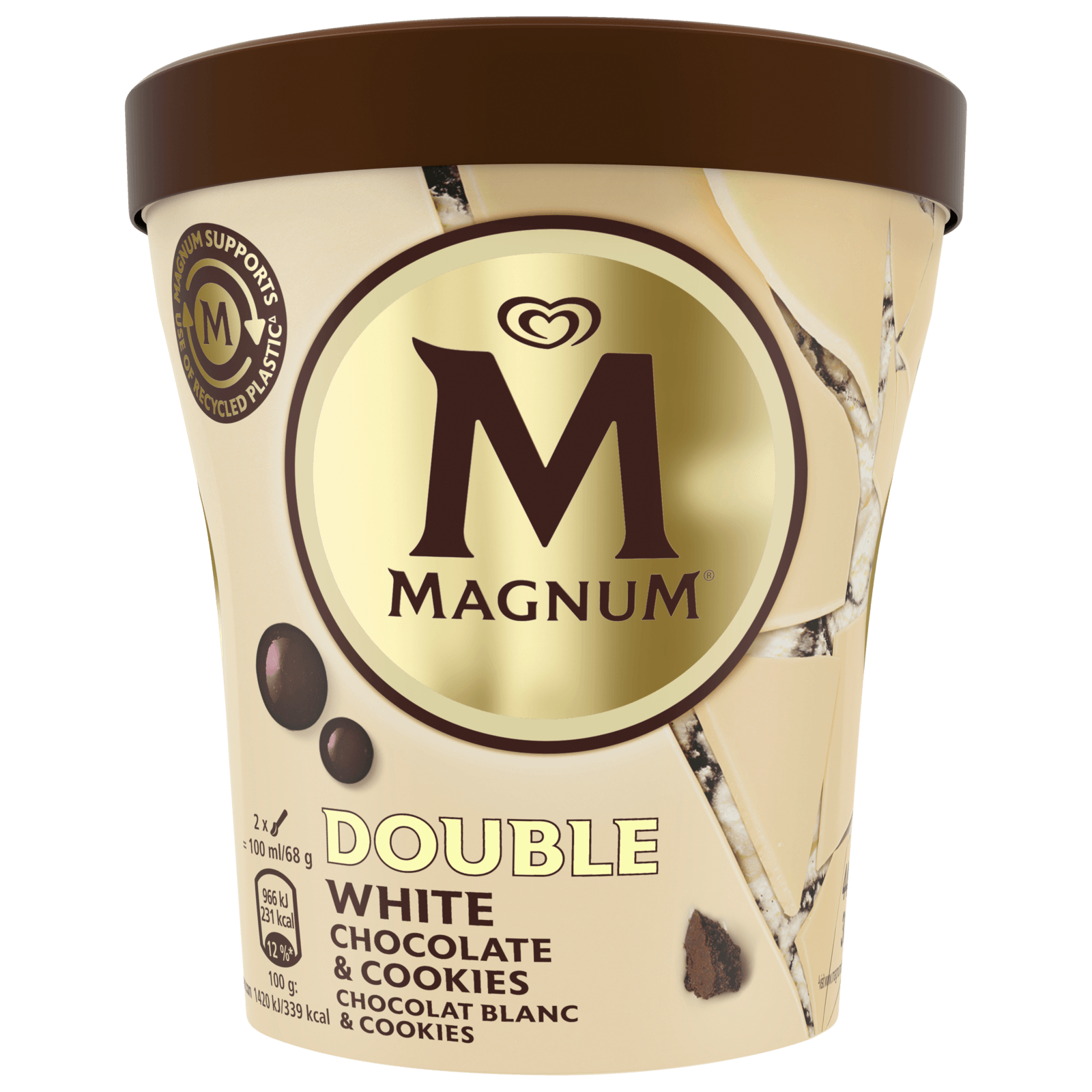 Magnum Eis White Chocolate & Cookies 440ml