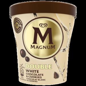 Magnum Becher White Chocolate & Cookies Eis 440ml