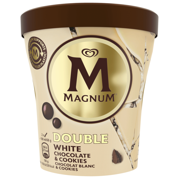 Magnum Eis White Chocolate & Cookies 440ml