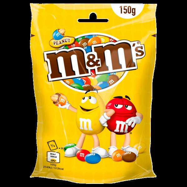 m&m's Peanut Schokobonbons 150g
