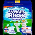 Weißer Riese Megaperls Vollwaschmittel 18 WL 1,22kg