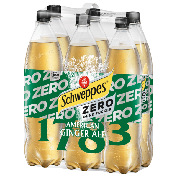 Schweppes American Ginger Ale Zero 6x1,25l