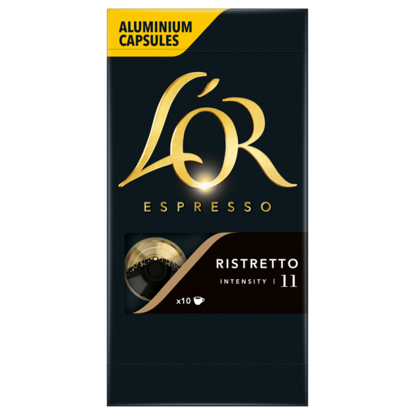 L'Or Espresso Ristretto Intensity 52g, 10 Stück
