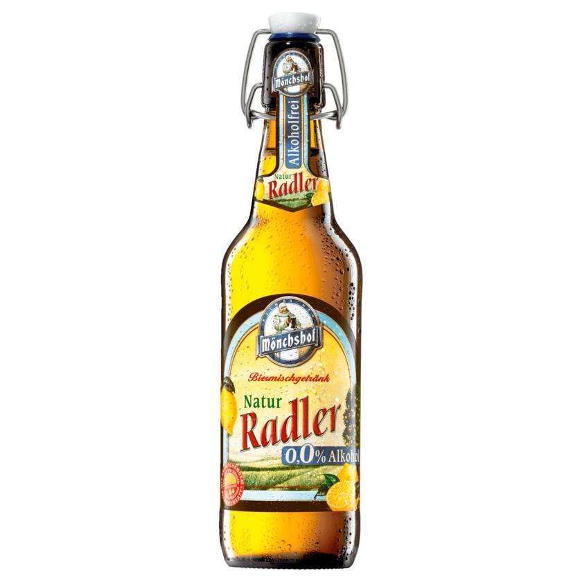 Mönchshof Natur Radler alkoholfrei 0,5l