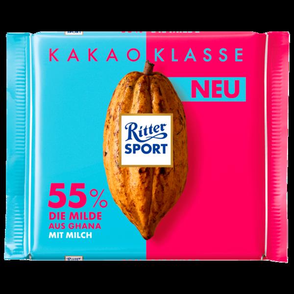 Ritter Sport Klasse 55% Die Milde 100g