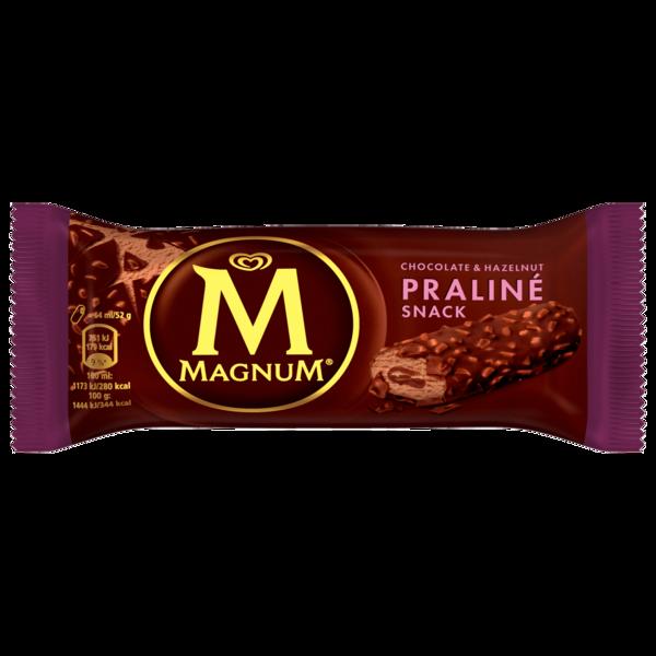 Magnum Chocolate & Hazelnut Praliné Snack Eis 64ml