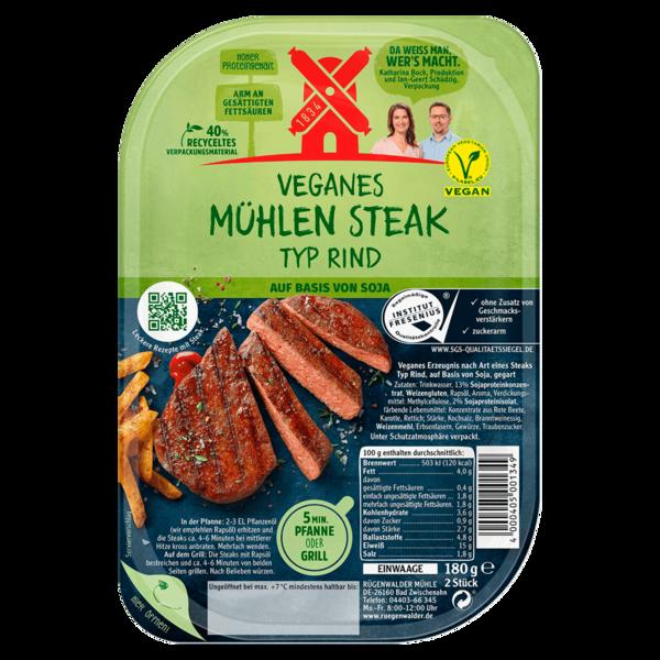 Veganes Mühlen Steak Typ Rind 180g