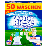 Weißer Riese Universal Pulver Vollwaschmittel 2,75kg, 50WL