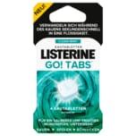 Listerine Go! Tabs Clean Mint Zuckerfrei 4 Kautabletten