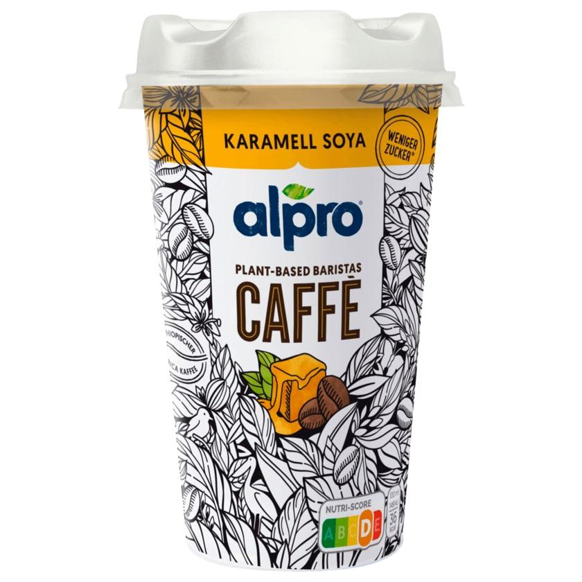 Alpro CAFFÈ Kaffee mit Sojadrink Karamell Soya vegan 235ml