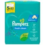 Pampers Feuchttücher Fresh Clean 5x52 Stück