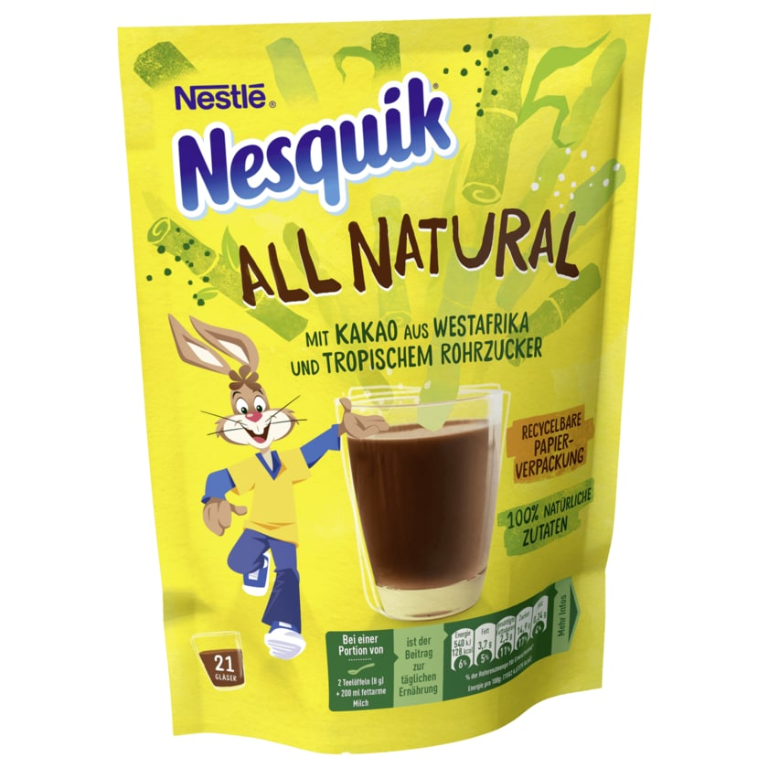 Nestlè Nesquik All Natural Kakaopulver 168g
