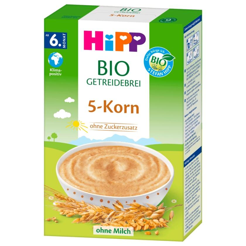 Hipp Bio Getreidebrei Fünf Korn 200g
