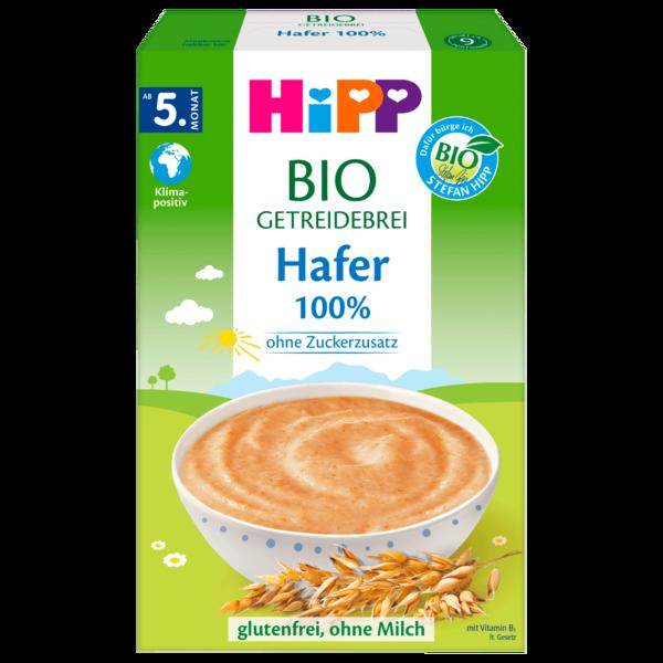 Hipp Bio Getreidebrei 100% Hafer 200g