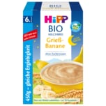 Hipp Bio Milchbrei Grieß-Banane 450g