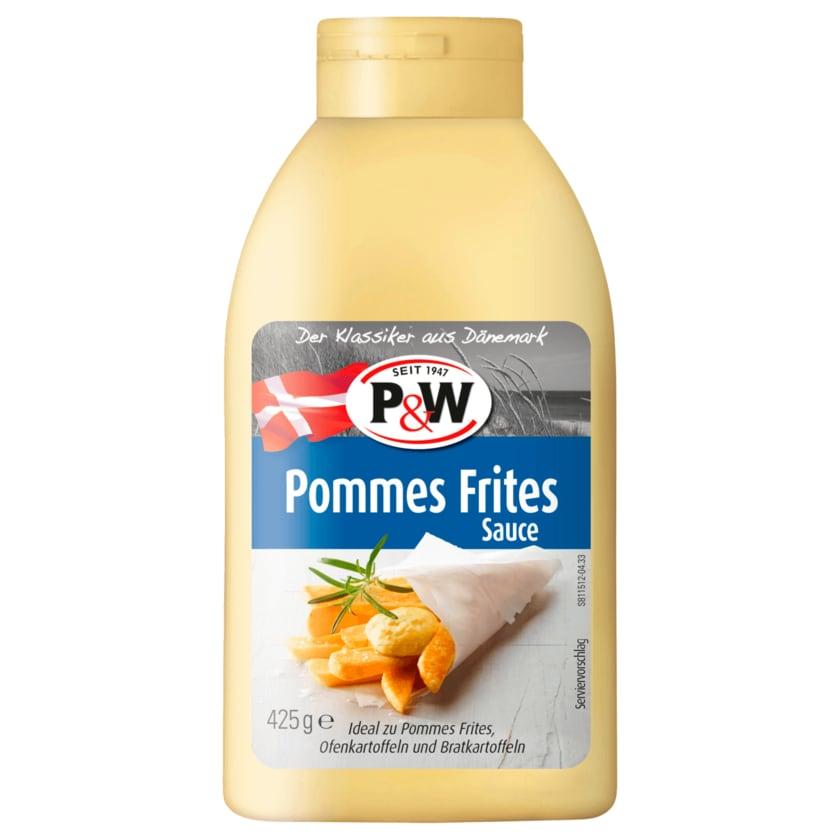 P&W Pommes Frites Sauce 425ml