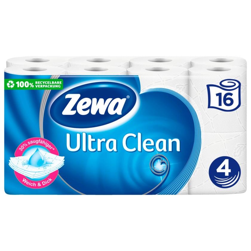 Zewa Toilettenpapier Ultra Clean 4-lagig 16x135 Blatt