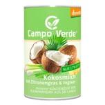 Campo Verde Bio Kokosmilch mit Zitronengras & Ingwer 400ml