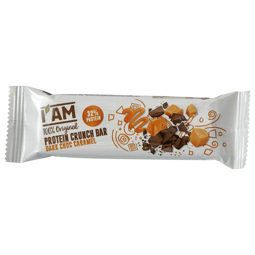 I Am Sport Protein Crunch Bar Dark Choc Caramel 50g