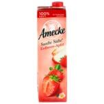 Amecke Sanfte Säfte Erdbeere-Apfel 1l