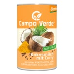 Campo Verde Bio Kokosmilch mit Curry 400ml