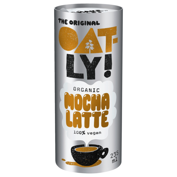 Oatly Bio Mocha Latte vegan 235 ml