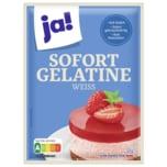 ja! Sofort-Gelatine weiß 30g