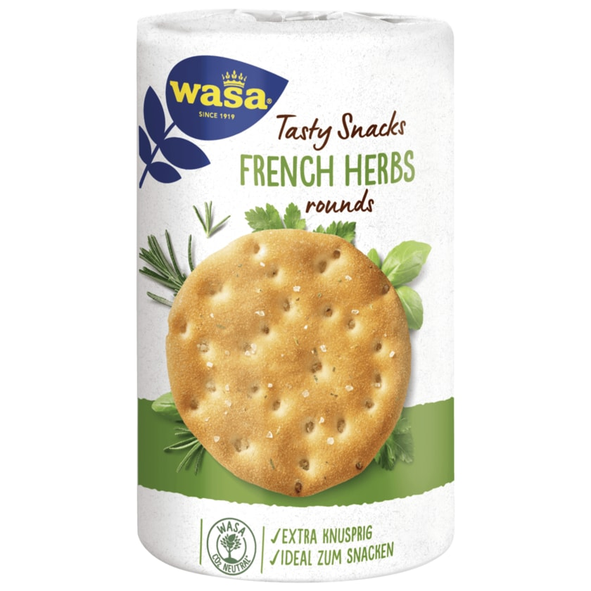 Wasa Tasty Snacks French Herbs 205g