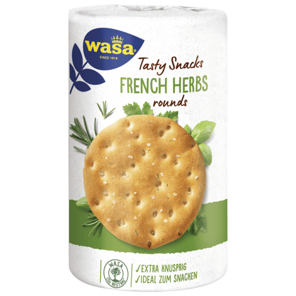 Wasa Delicious Rounds French Herbs 205g